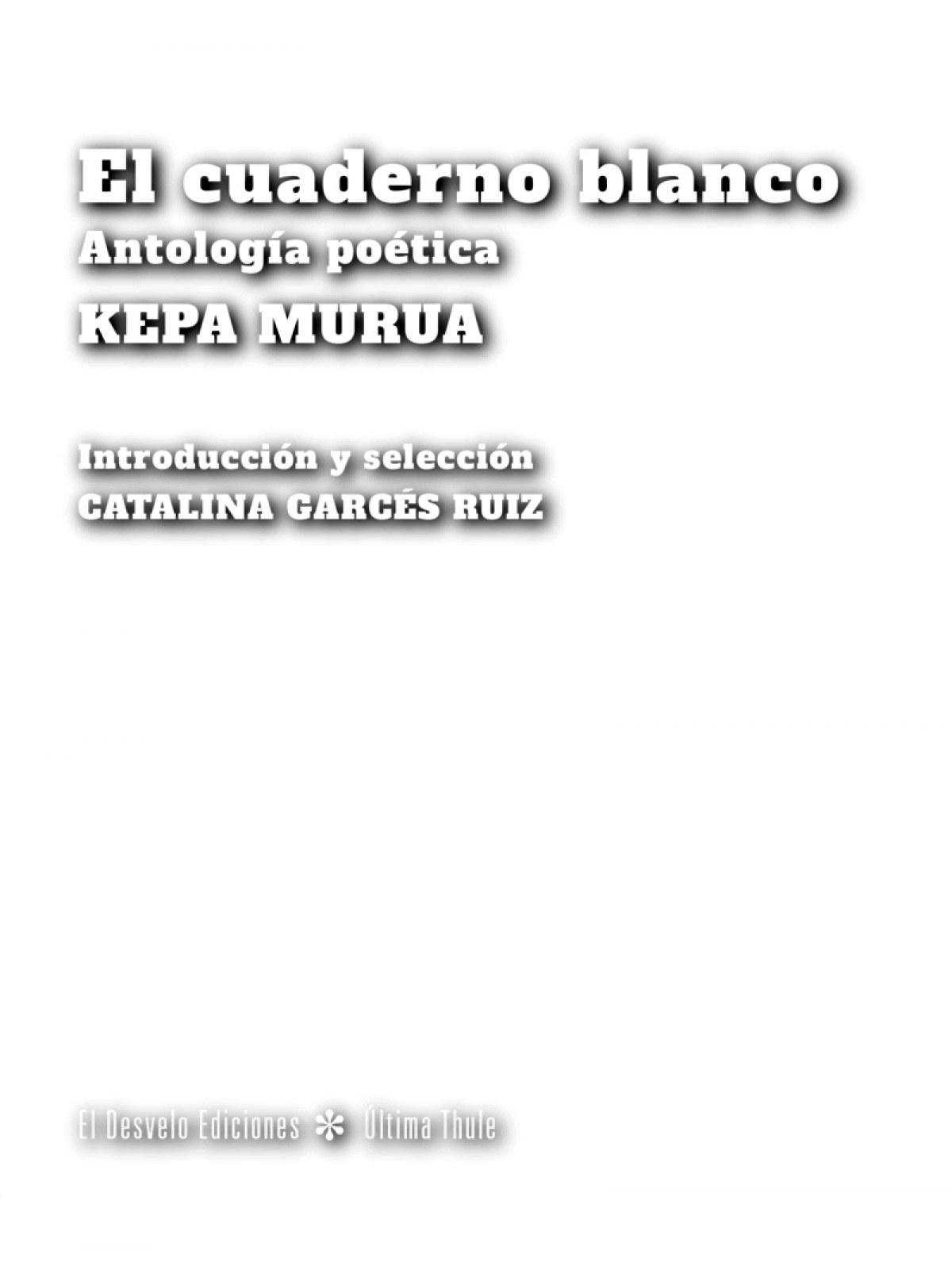 EL CUADERNO BLANCO