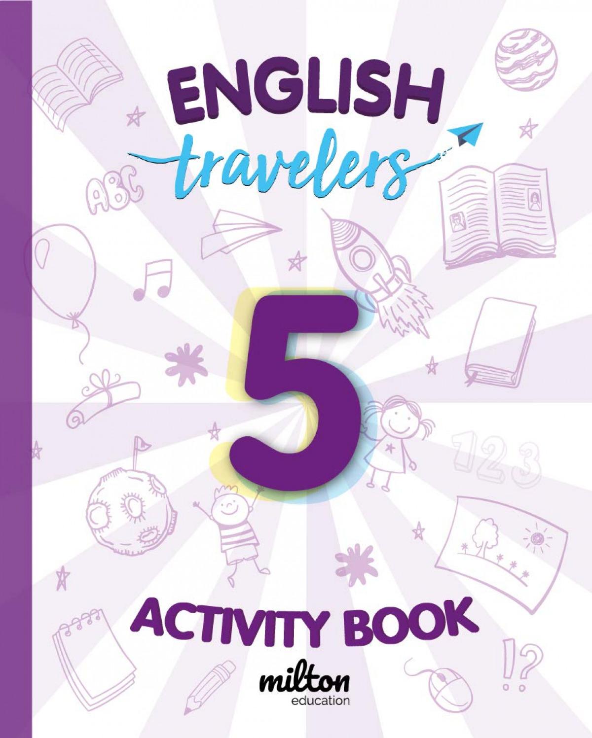 Travelers Red 5 Activity Book - English Language 5 Primaria