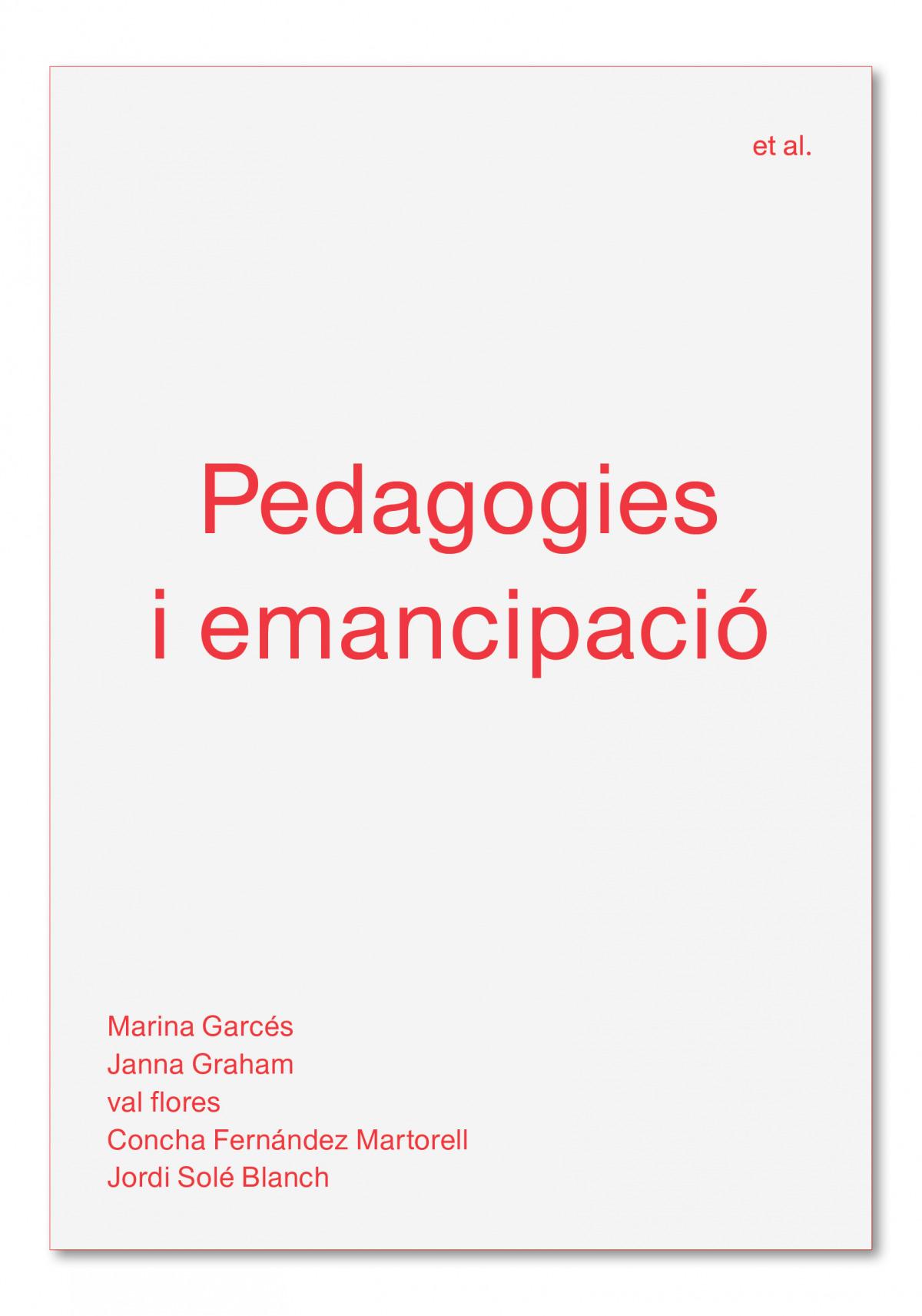 Pedagogies i emancipació