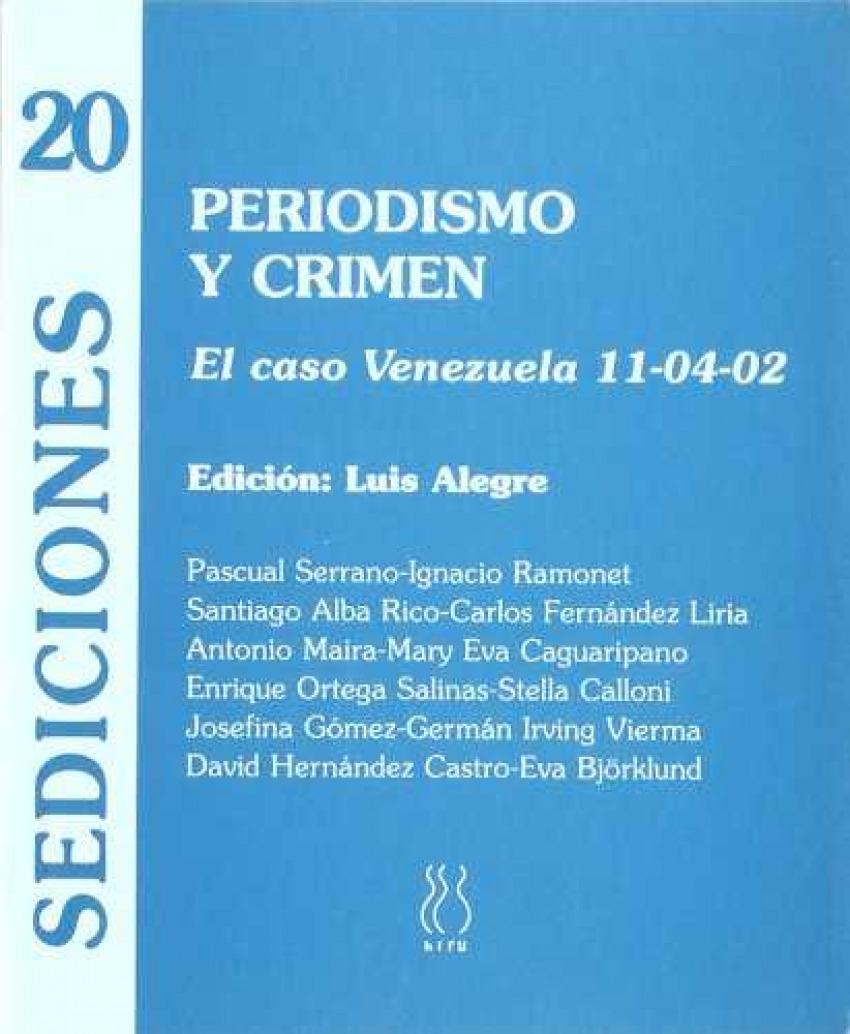 Periodismo y crimen