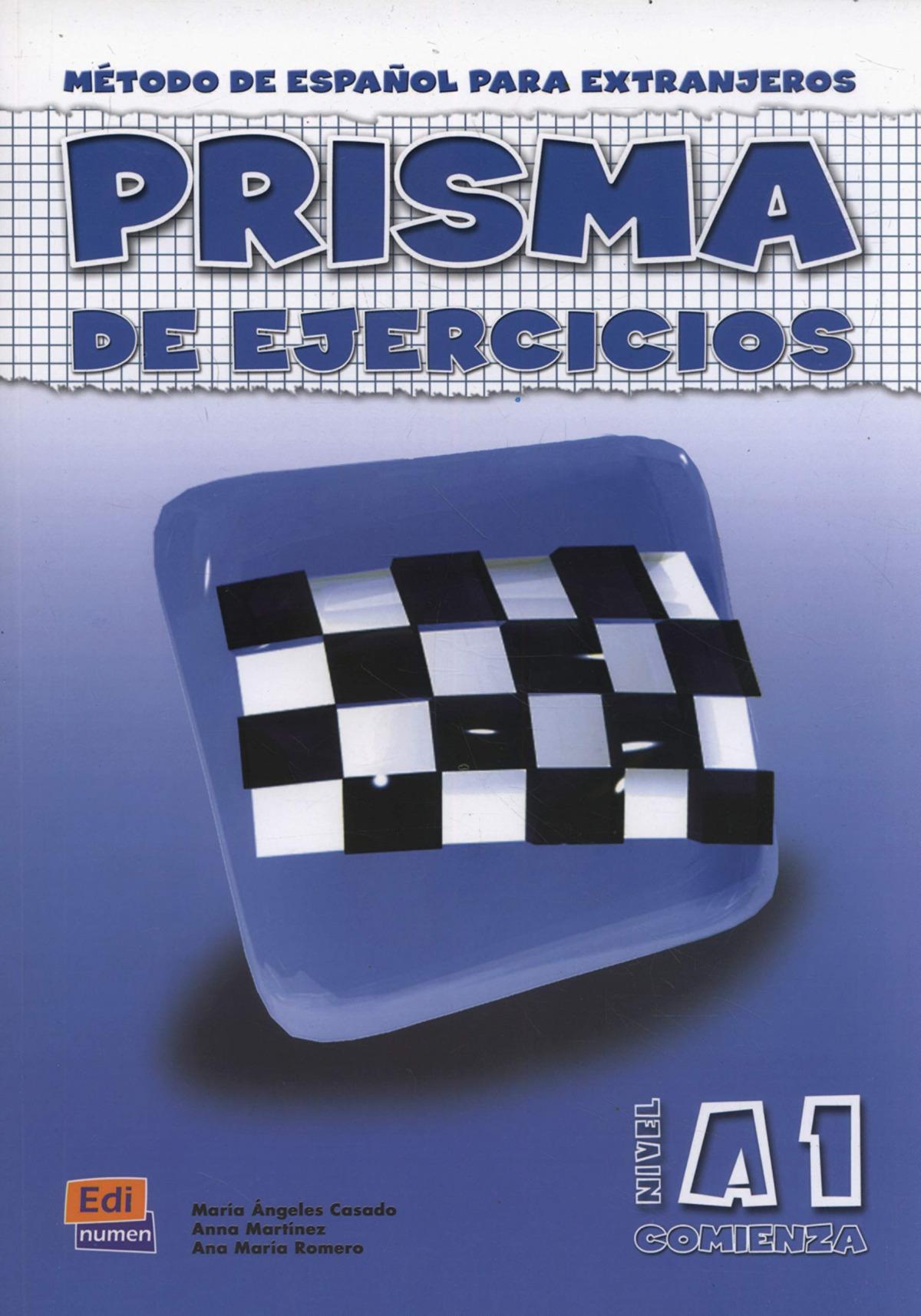 Prisma, método de español, nivel A1. Libro de ejercicios