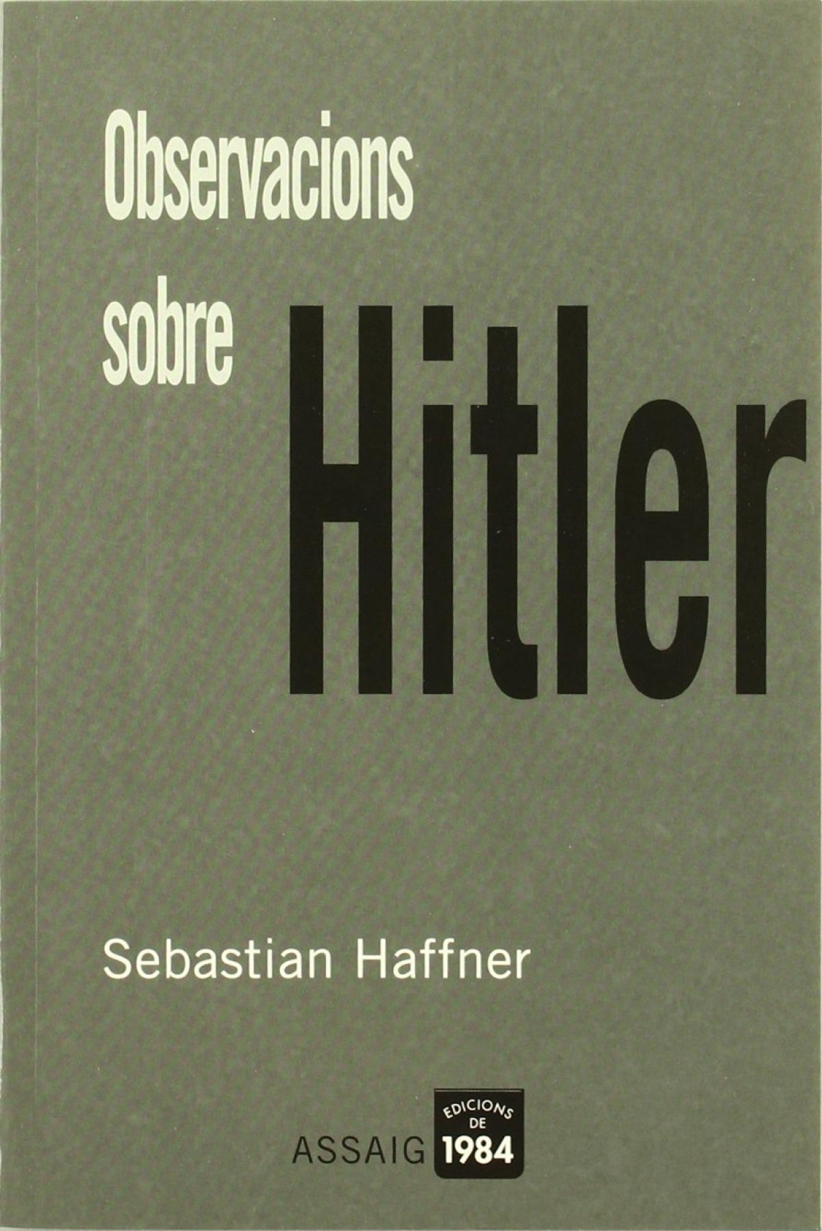 Observacions sobre Hitler