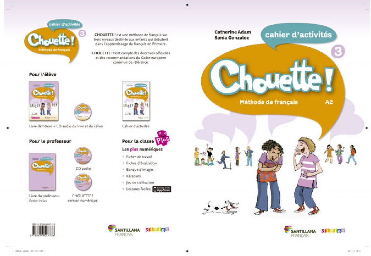 Chouette 3. Cahier d'exercicies