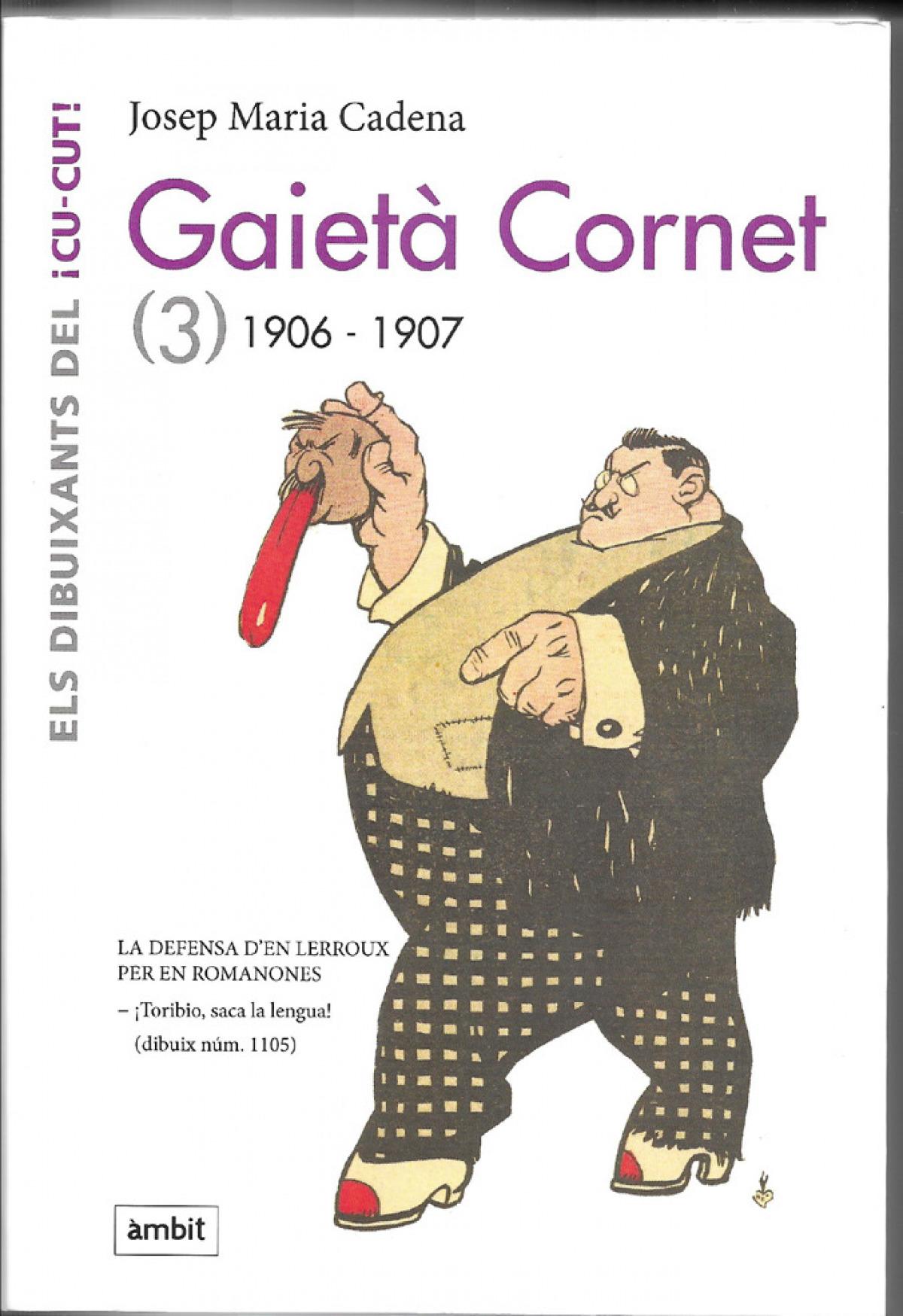 Gaietà Cornet Vol. 3 (1906-1907)