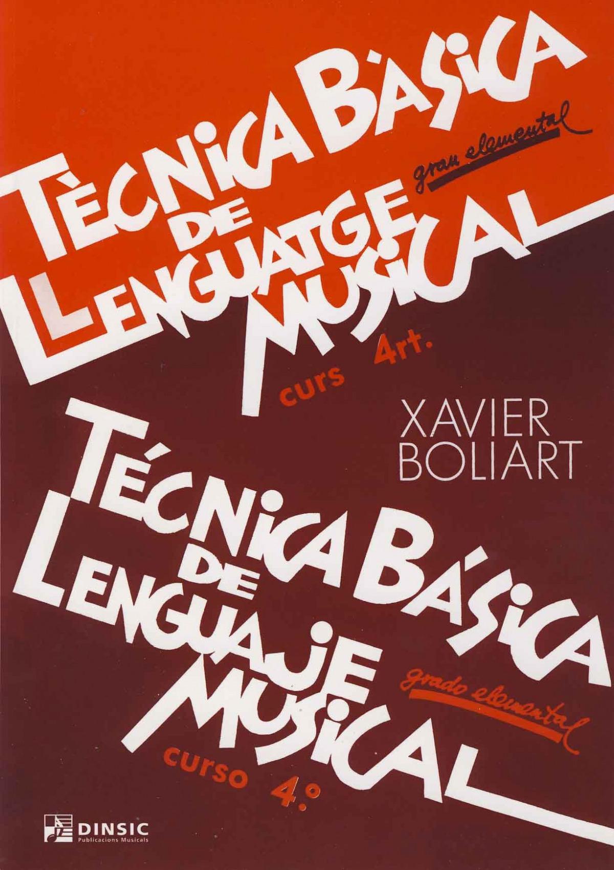 Técnica básica de lenguaje musical 4