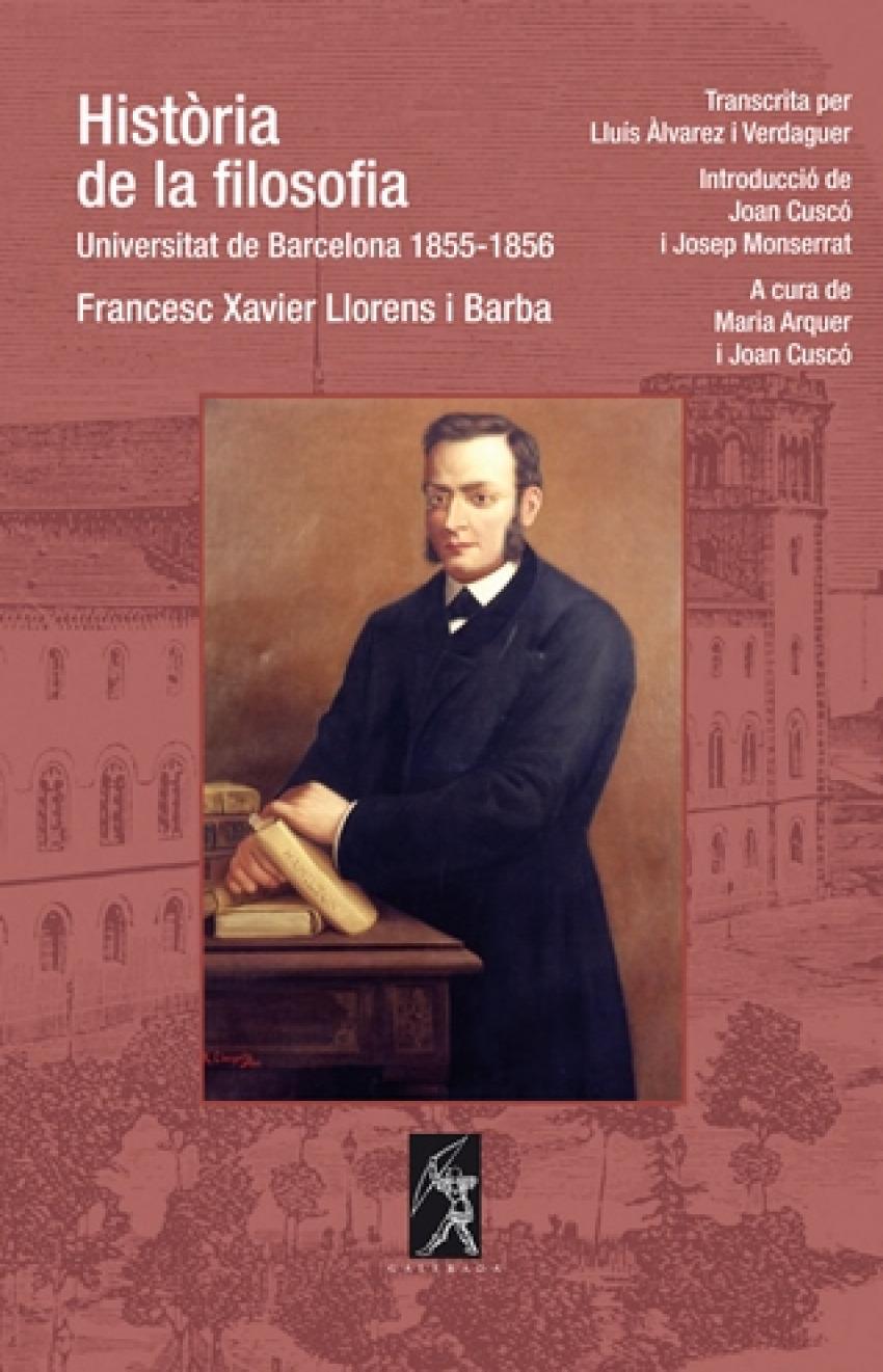 Història de la filosofia. Universitat de Barcelona 1855-1856