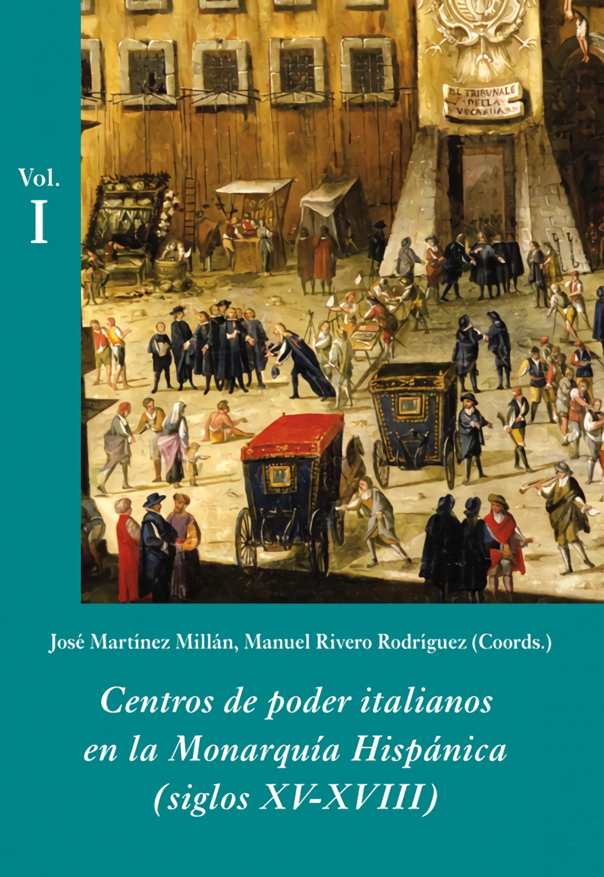 CENTROS DE PODER ITALIANOS ESTUCHE -3 VOLS