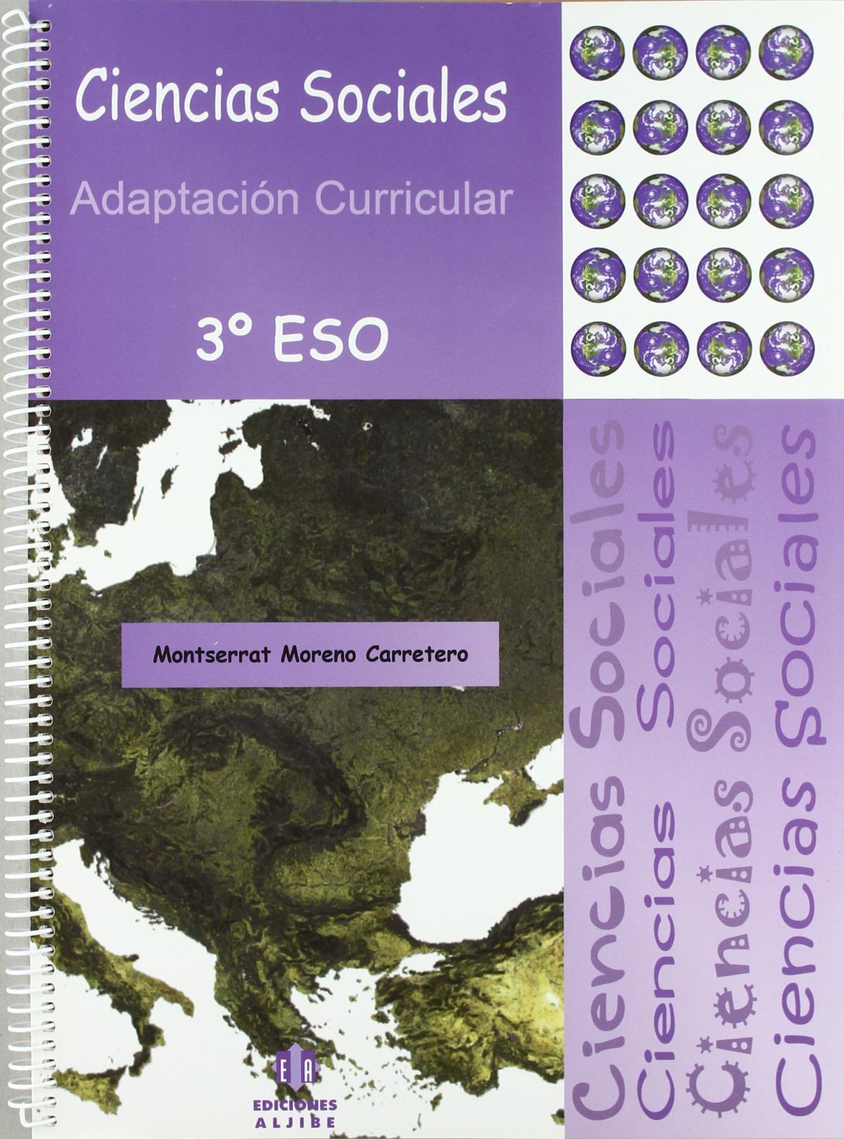 Ciencias sociales 3o. ESO Adaptaciones curriculares 9788497006132