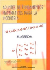Fundamentos matemáticos de la ingeniería: álgebra
