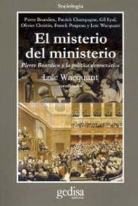 Misterio Del Ministerio, El