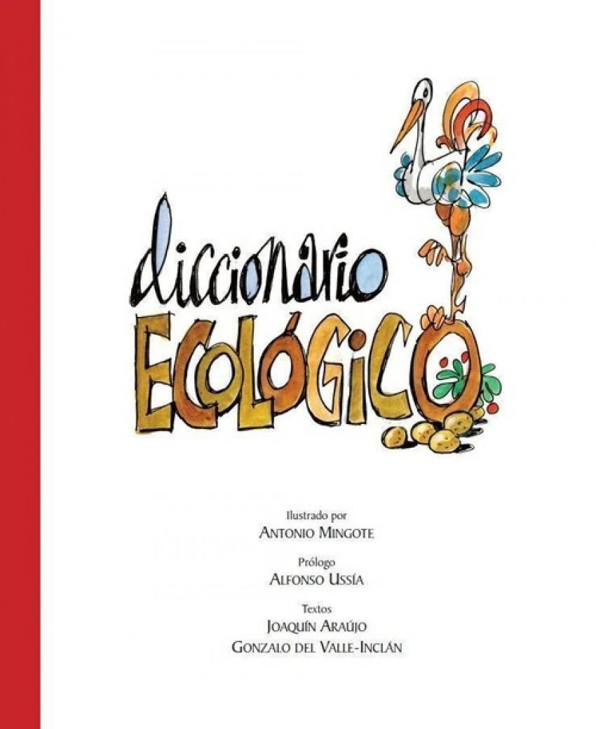Diccionario ecológico de Mingote