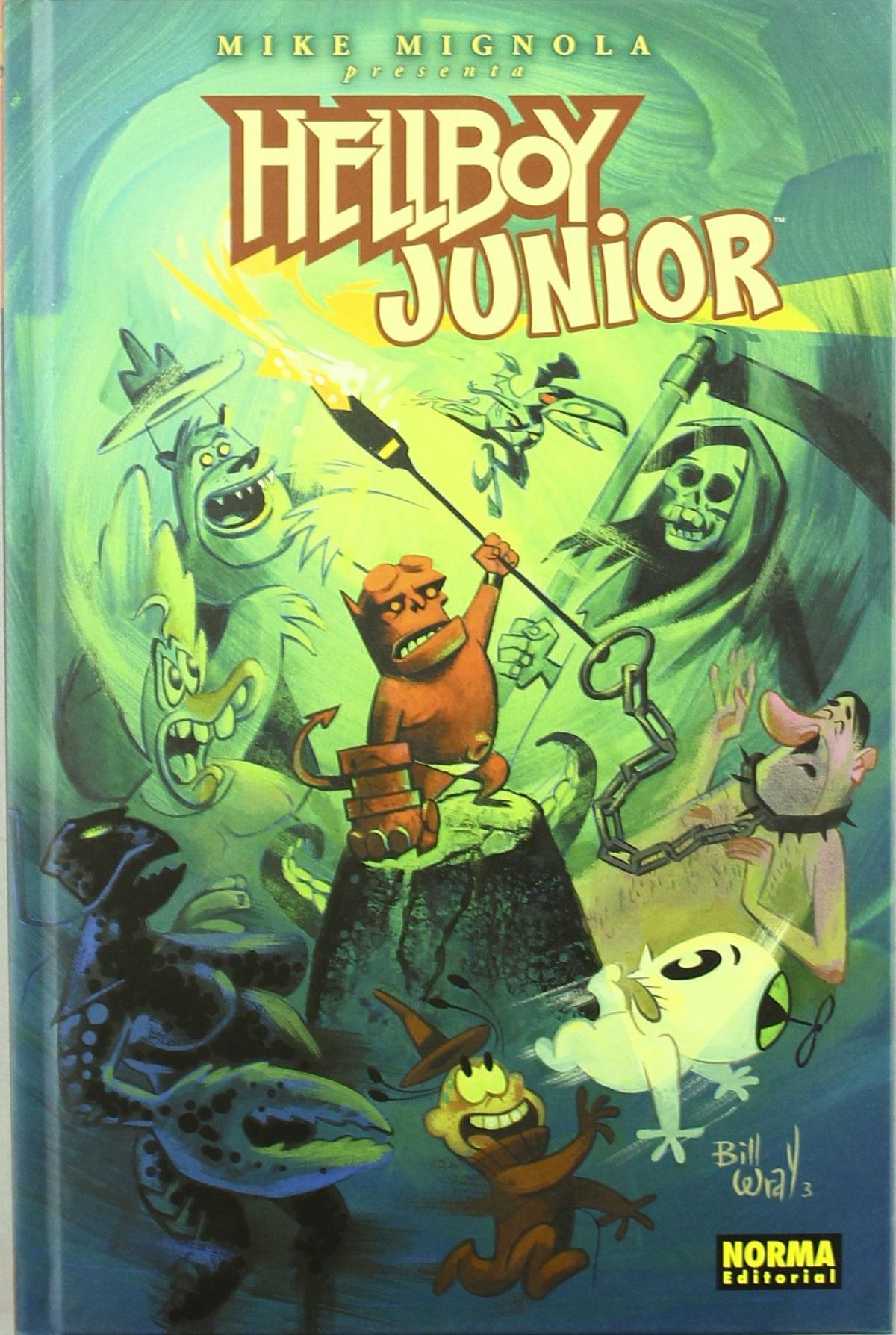 Hellboy, 8 Junior