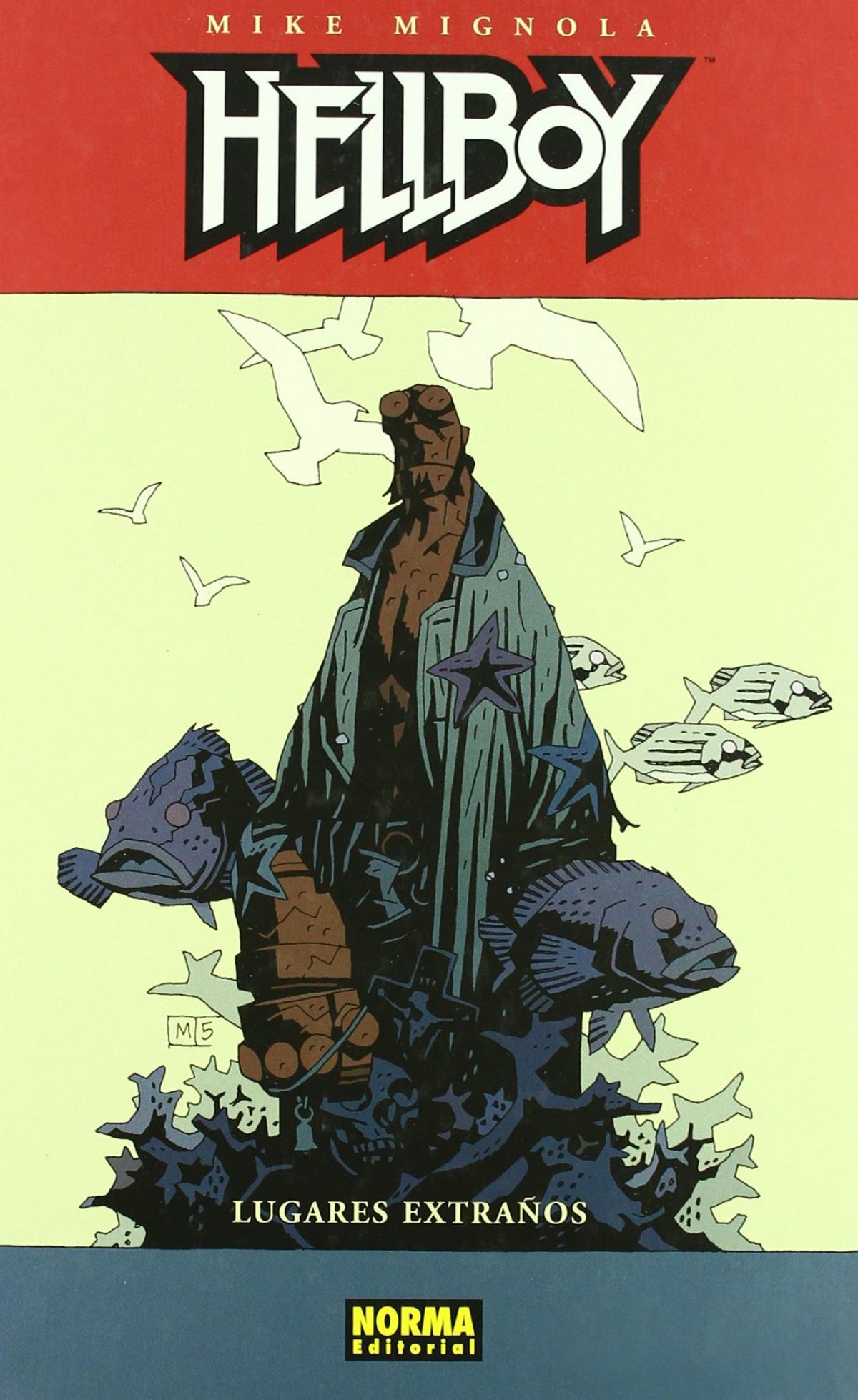 Hellboy:lugares extraños c
