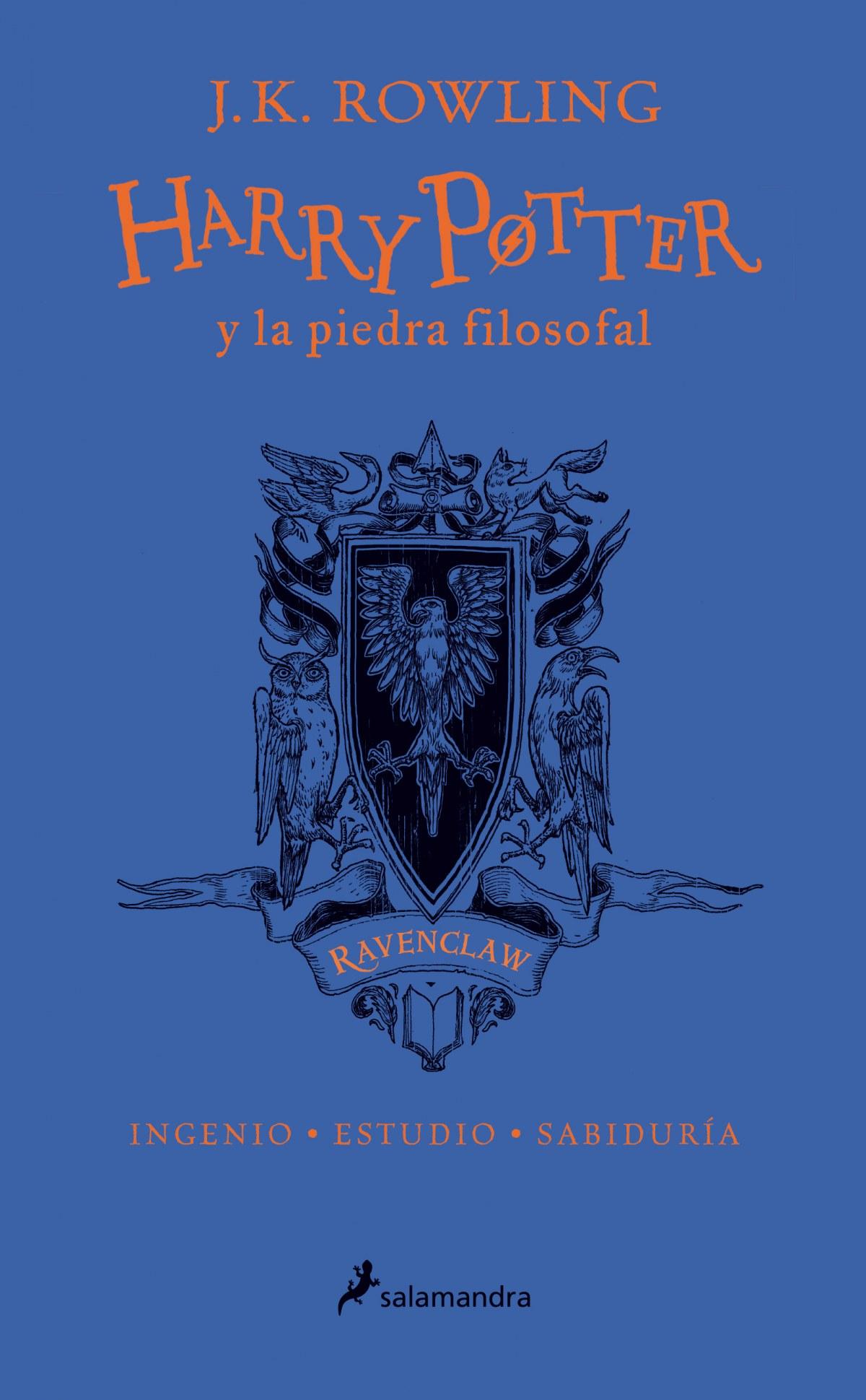 RAVEBCLAW HARRY POTTER Y LA PIEDRA FILOSOFAL 9788498388916