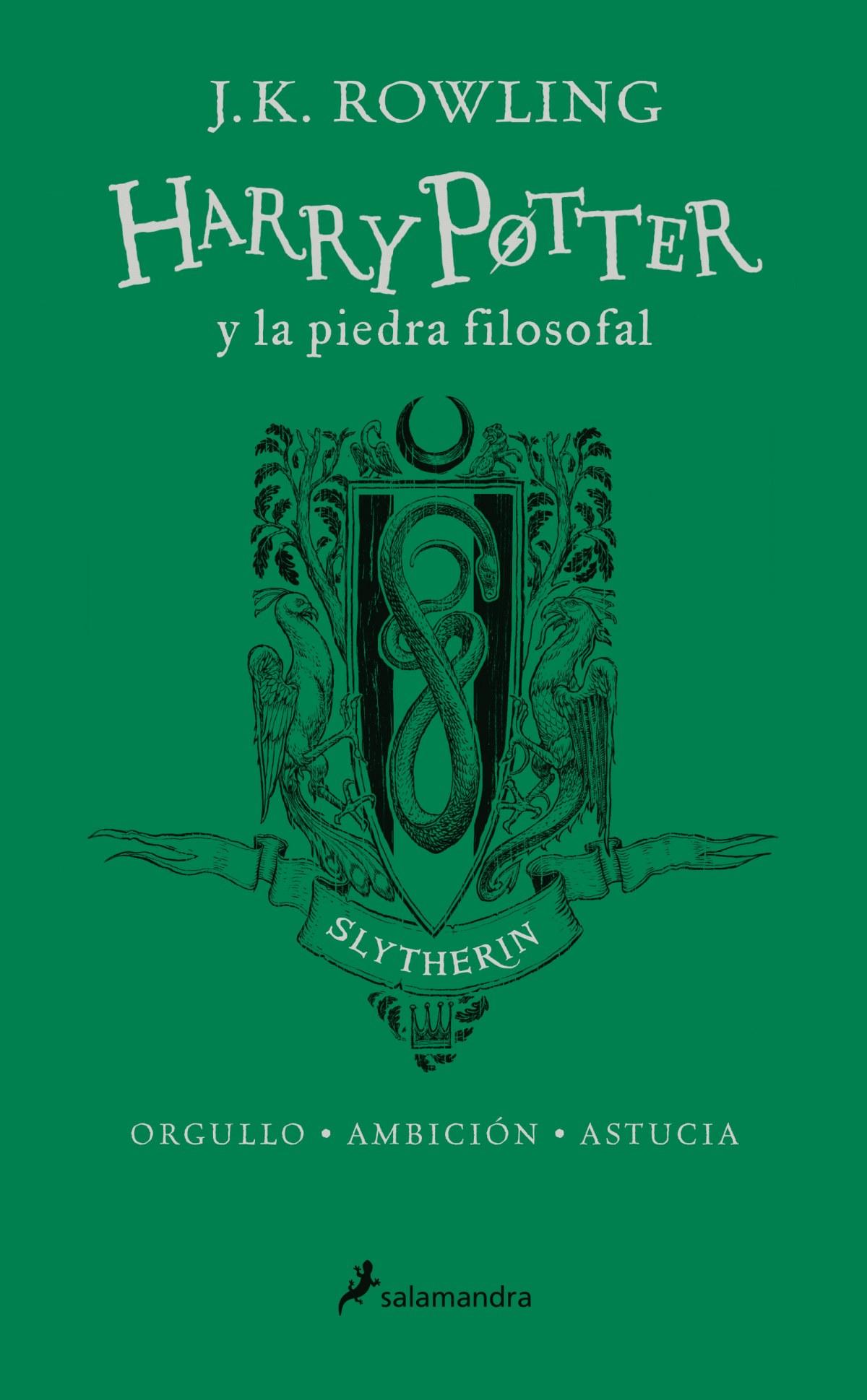 SLYTHERIN HARRY POTTER Y LA PIEDRA FILOSOFAL 9788498388930