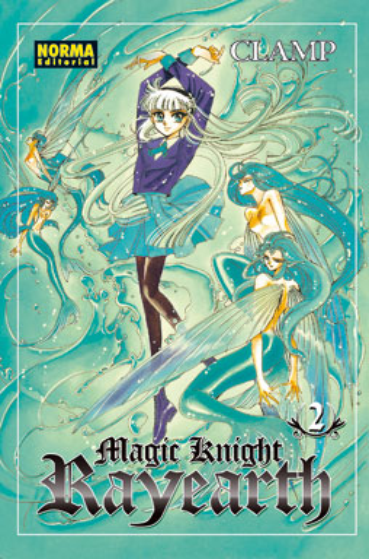 Magic Knight Rayearth, 2