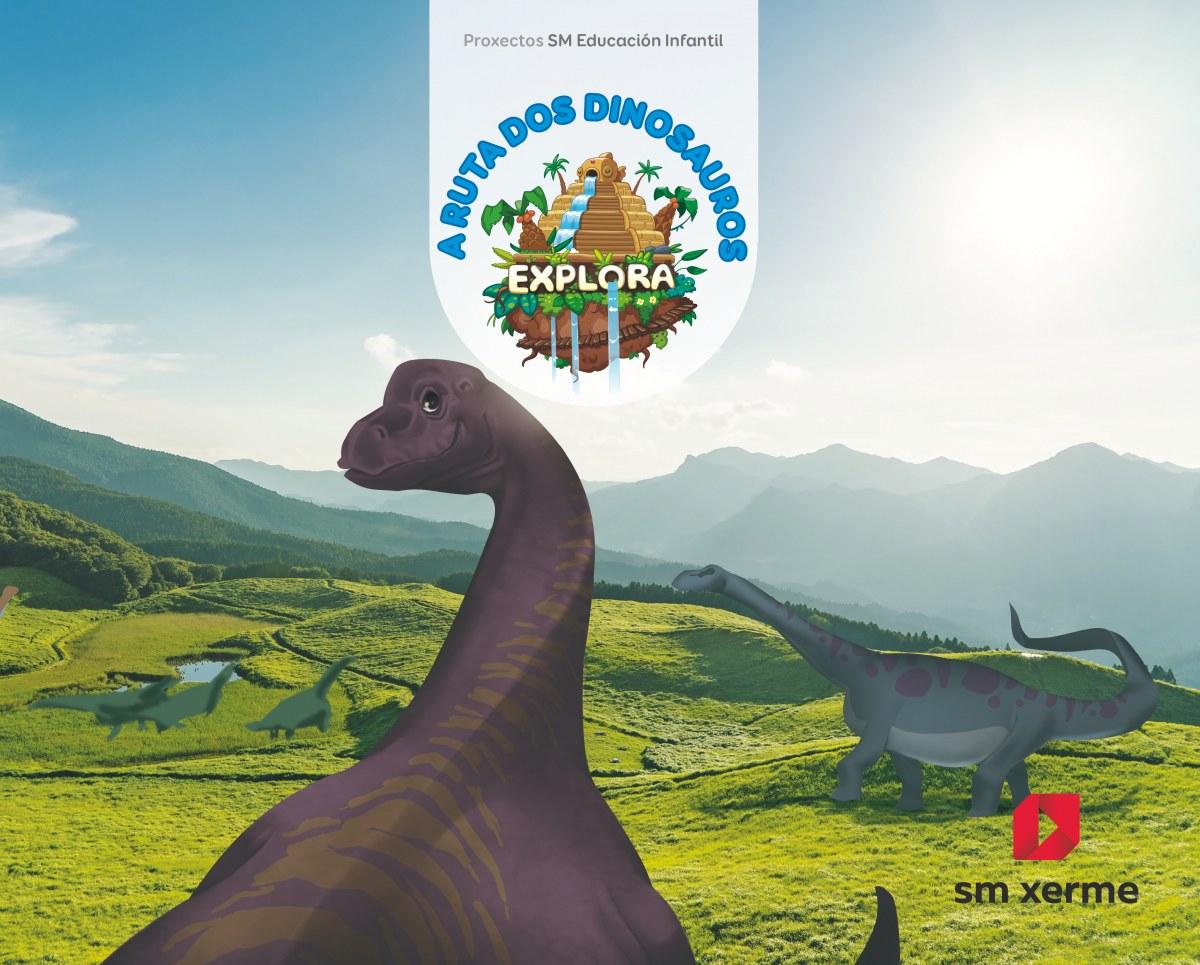 A ruta do dinosauros. Nivel 2. Explora ciclo