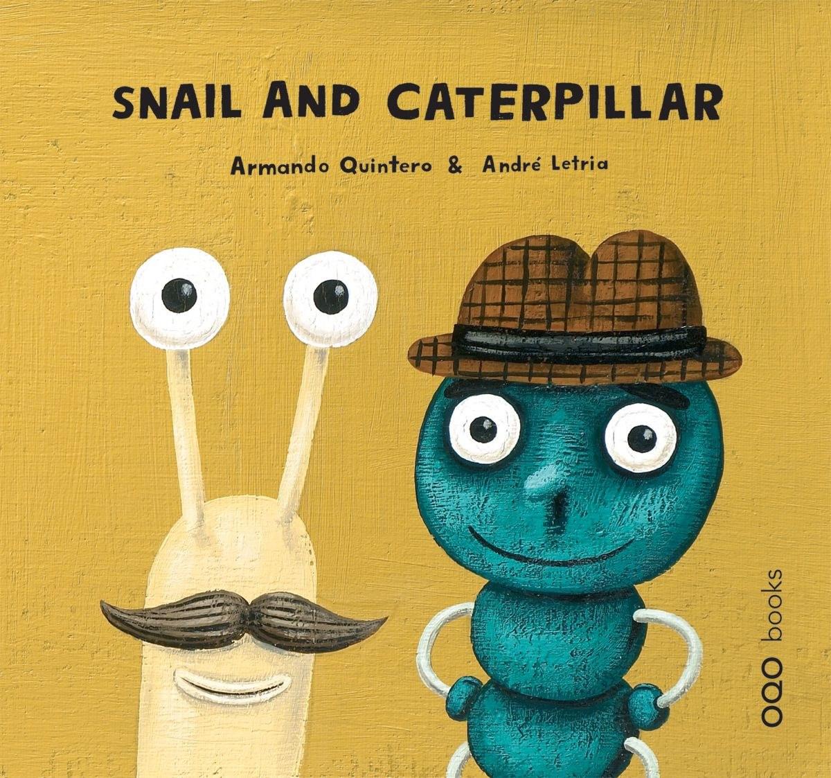 Snail and little catterpillar