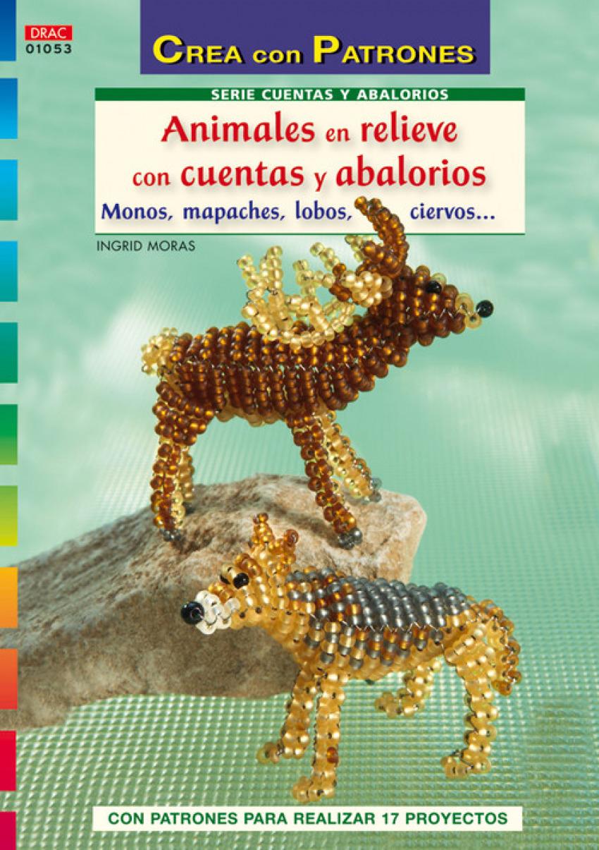 65e0ad519017 Animales En Relieve Con Cuentas Y Abalorios - Tapa Blanda O Bolsillo ...