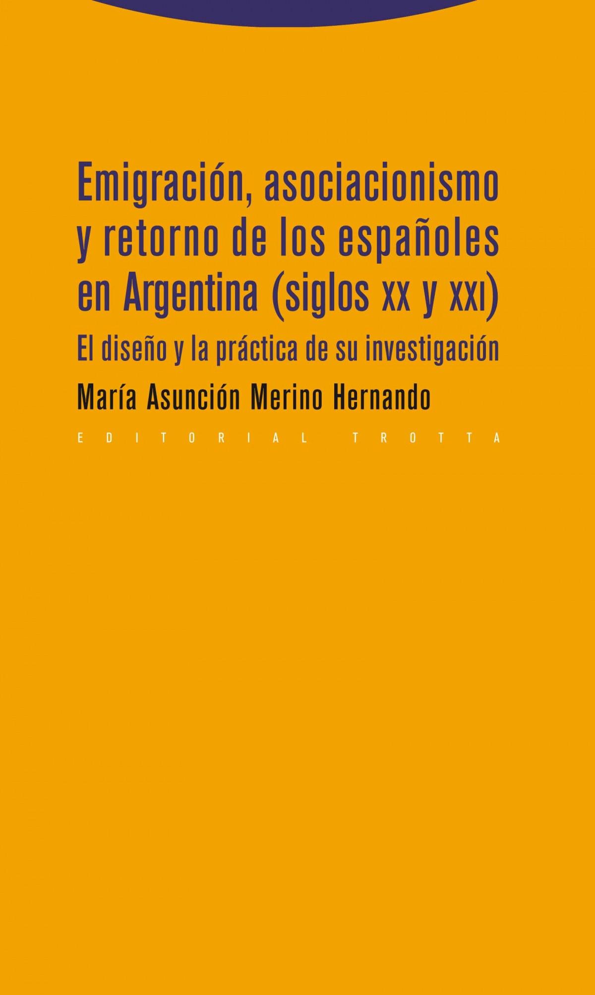 EMIGRACIÓN ASOCIACIONISMO Y RETORNO ESPAÑOLES EN ARGENTINA