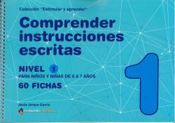 COMPRENDER INSTRUCCIONES ESCRITAS - NIVEL 1
