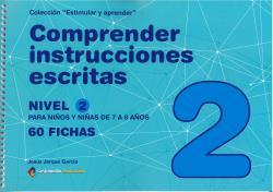 COMPRENDER INSTRUCCIONES ESCRITAS - NIVEL 2