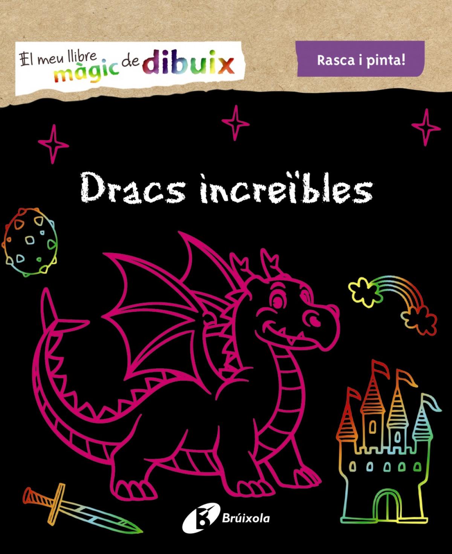El meu llibre màgic de dibuix. Dracs increïbles