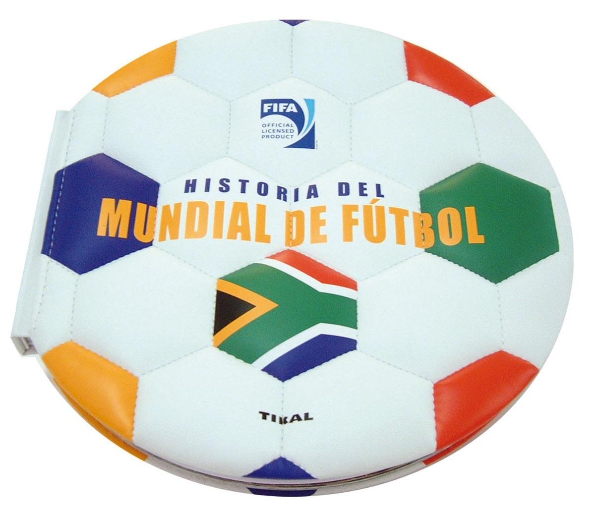 Historia del mundial de fútbol 9788499283722