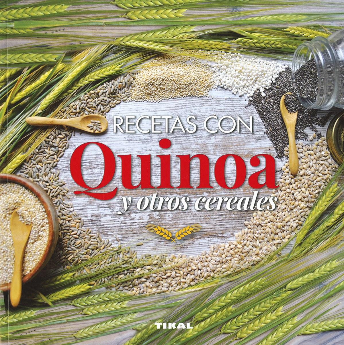RECETAS CON QUINOA Y CEREALES