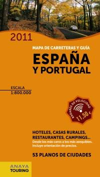 Guía y mapa de carreteras de España y Portugal 1:800.000, (2011)