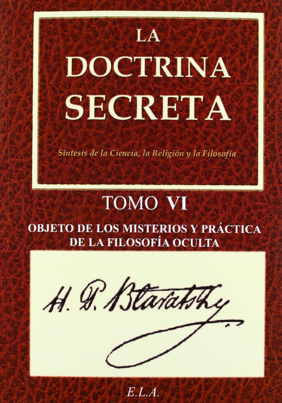 Doctrina secreta 6