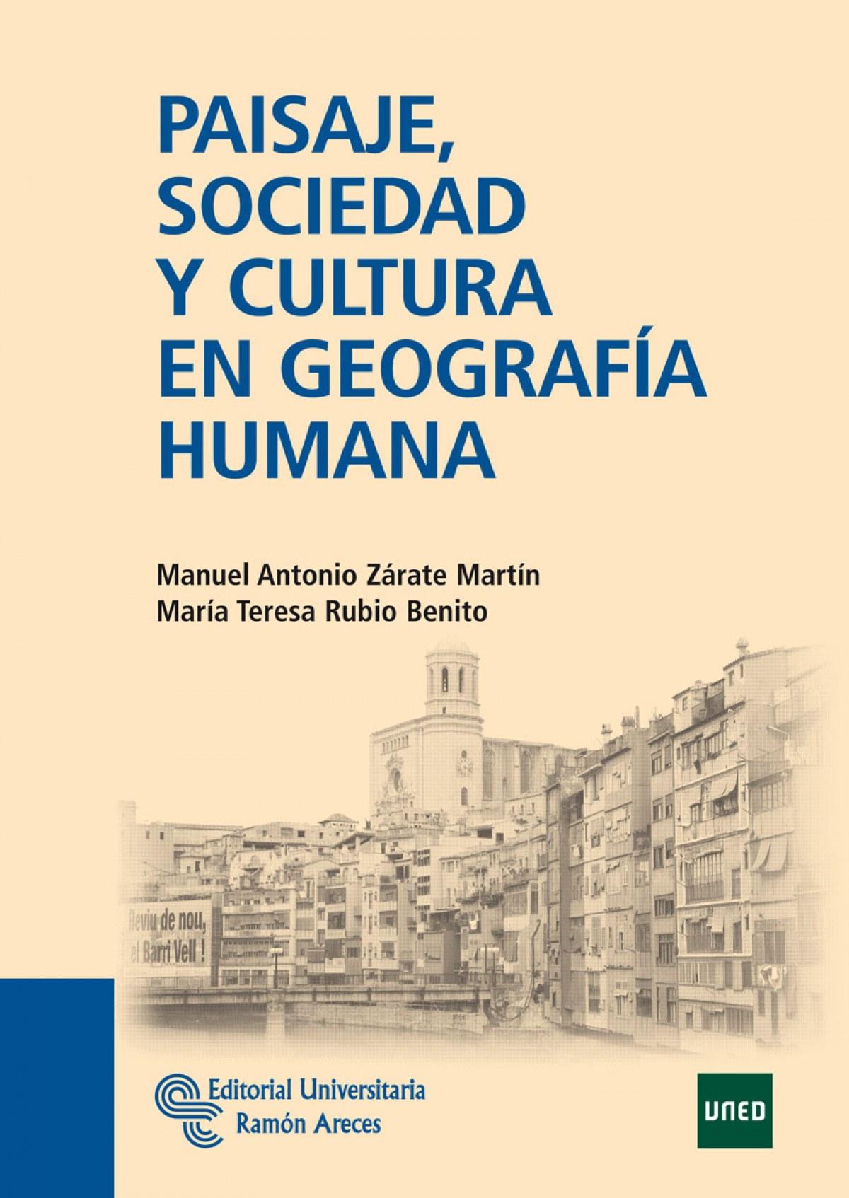 PAISAJE, SOCIEDAD Y CULTURA DE GEOGRAFÍA HUMANA