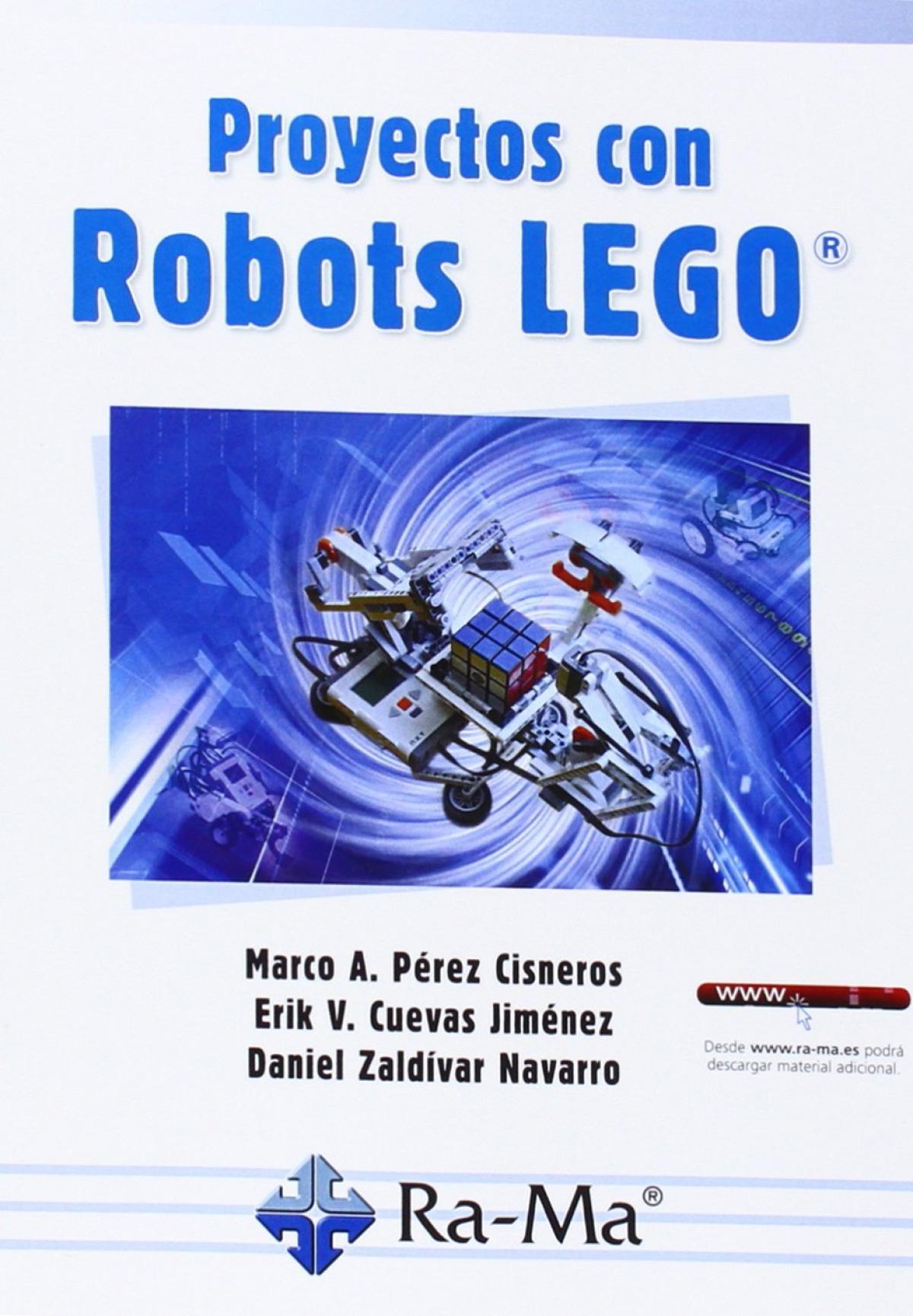 PROYECTOS CON ROBOTS LEGO 9788499645056