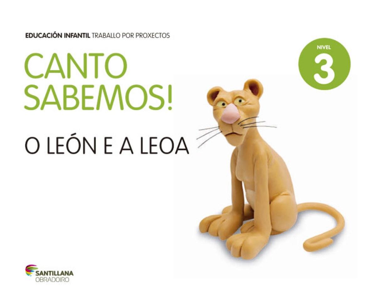 (G).(14).3.CANTO SABEMOS:LEON E LEOA (5 ANOS).PROX.INFANT.