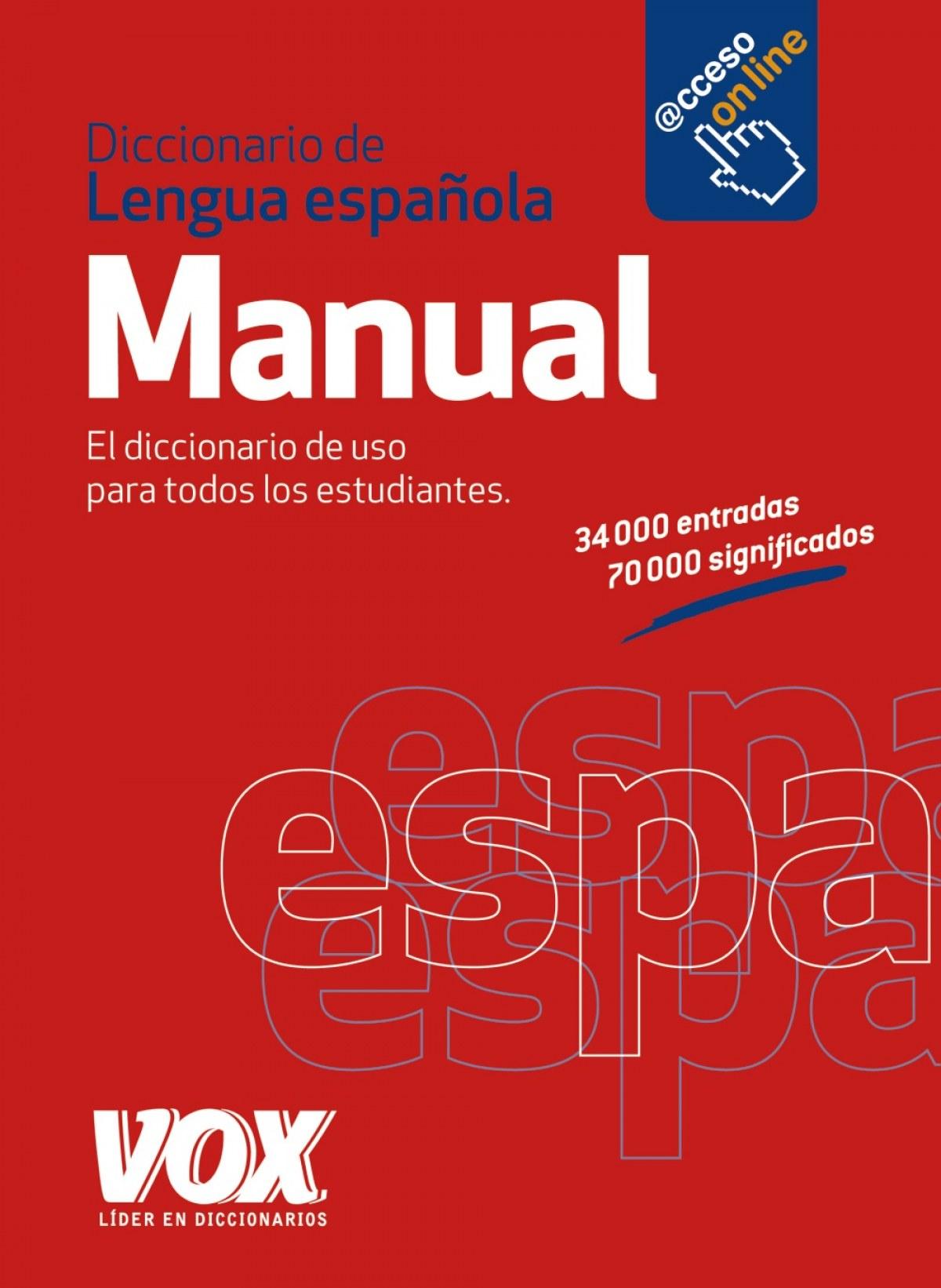Diccionario manual Vox de la lengua española