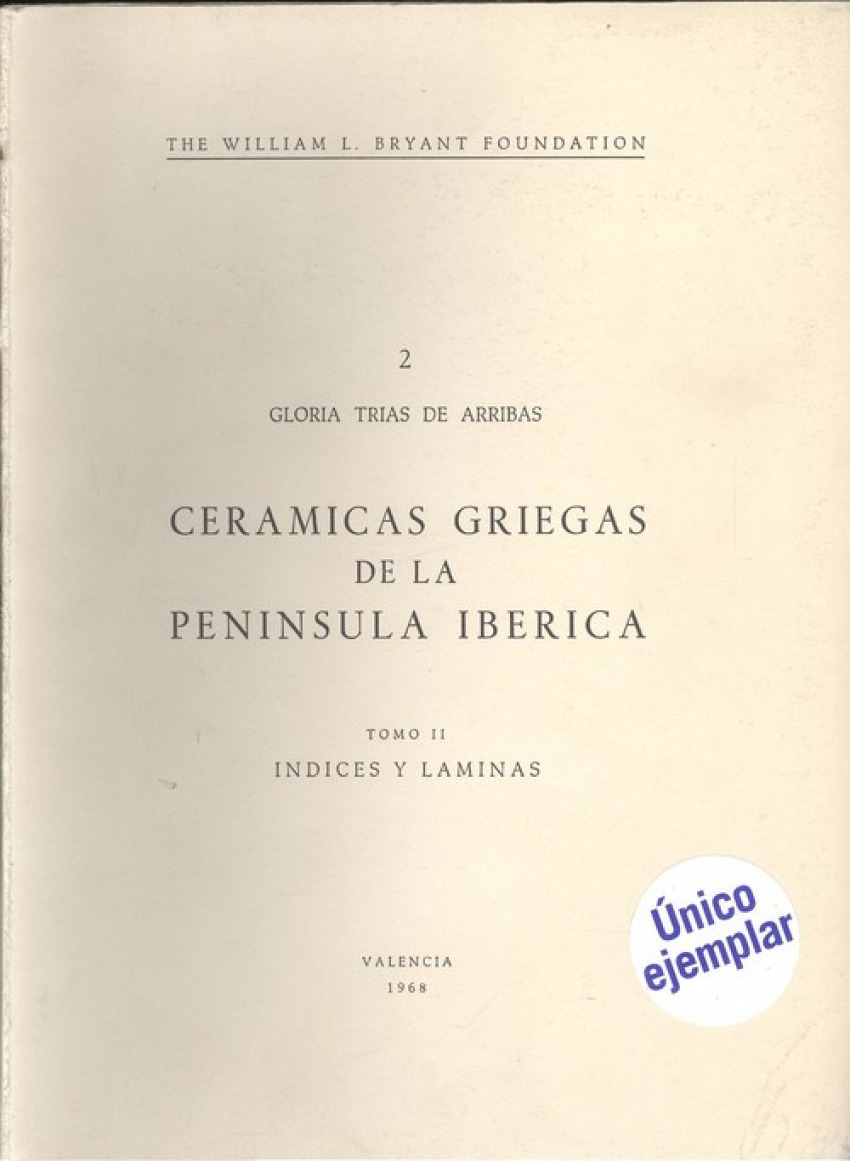 Cerámicas griegas de la peninsula ibérica II
