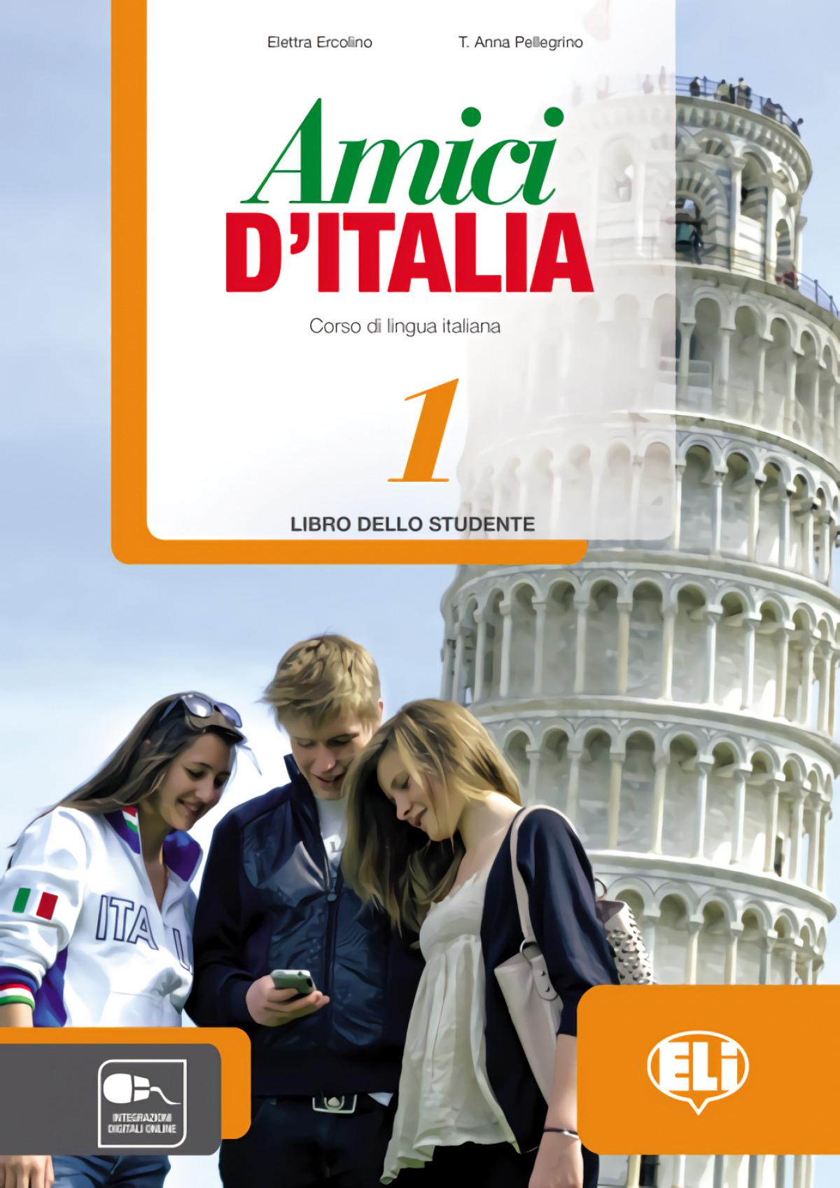 AMICI 1 D'ITALIA LIBRO ALUMNO