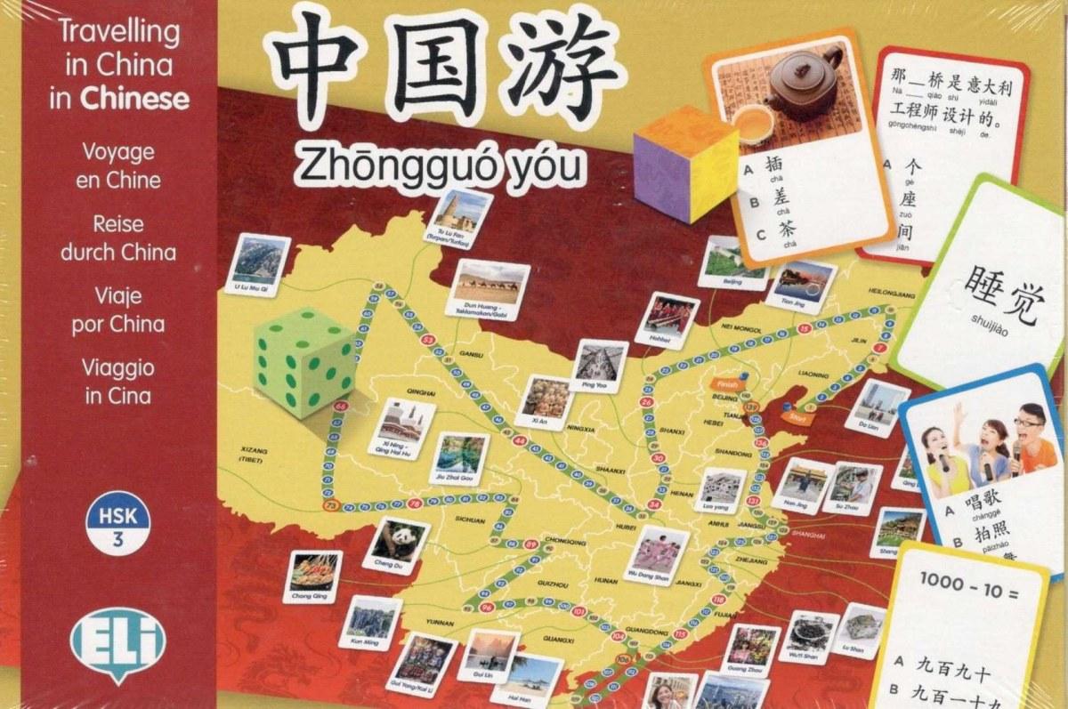 VIAJE POR CHINA. JUEGOS EN CHINO