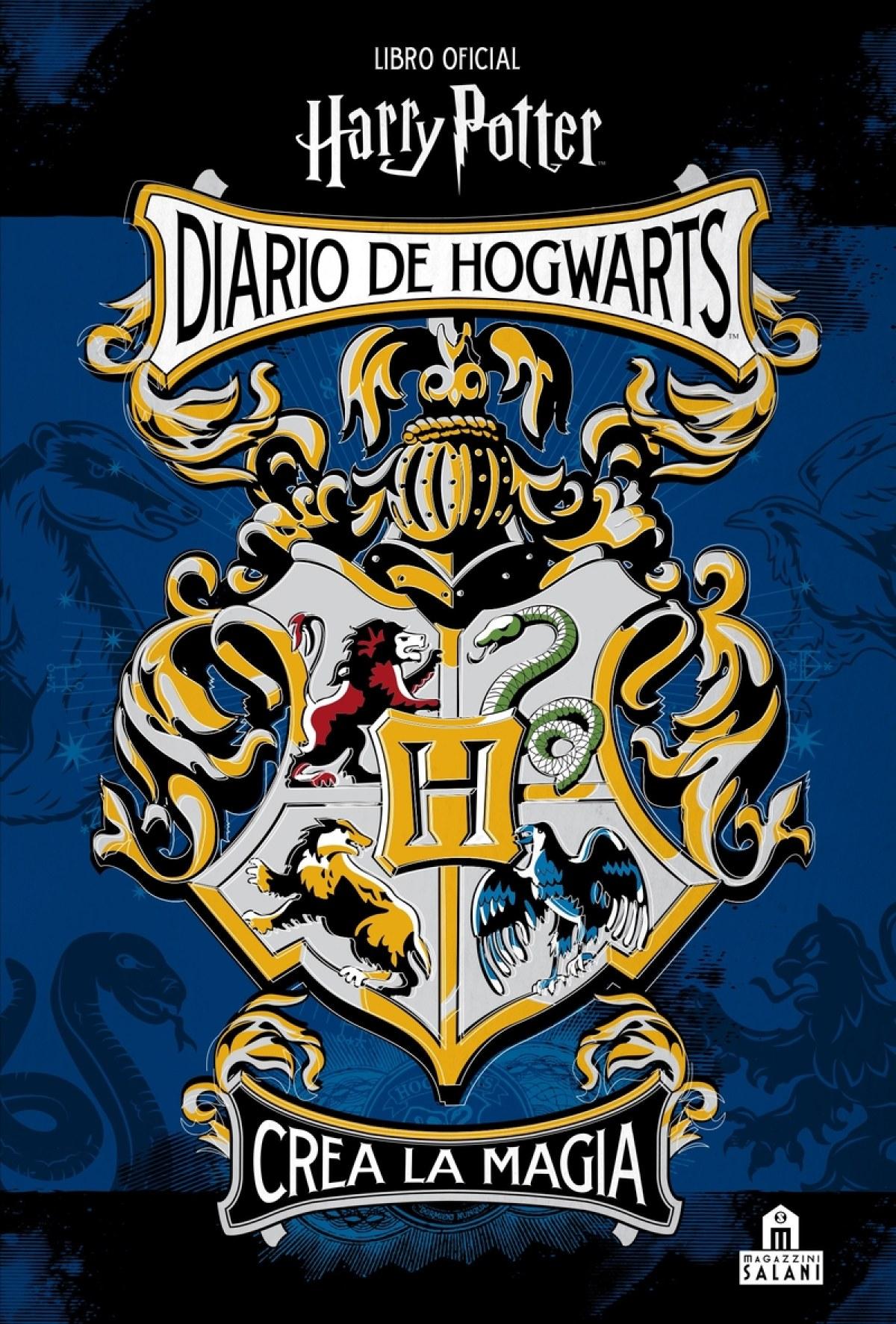 DIARIO DE HOGWARTS CREA LA MAGIA HARRY POTTER