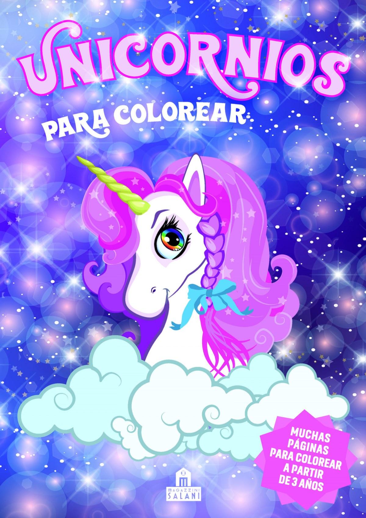 Unicornios para colorear