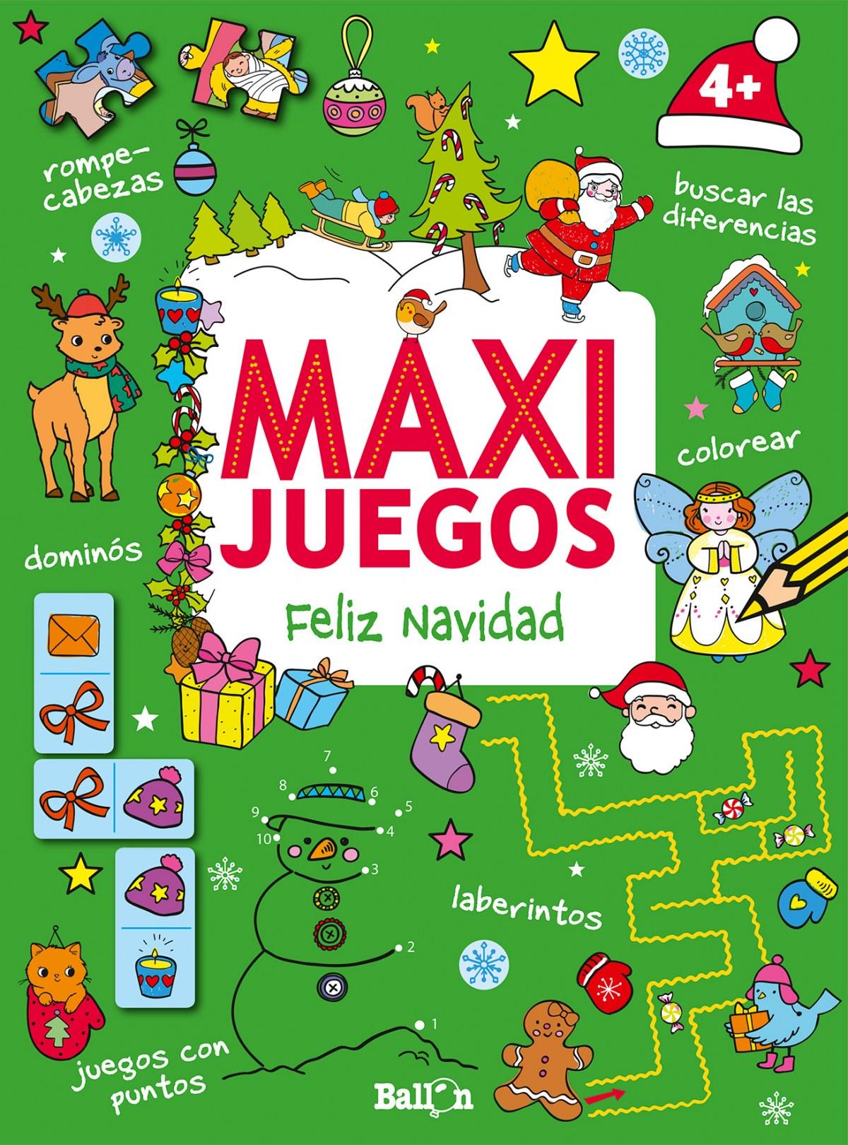 MAXI JUEGOS FELIZ NAVIDAD