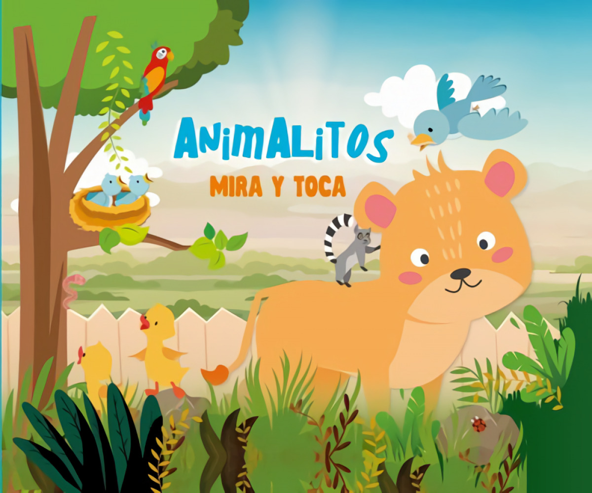 ANIMALITOS MIRA Y TOCA