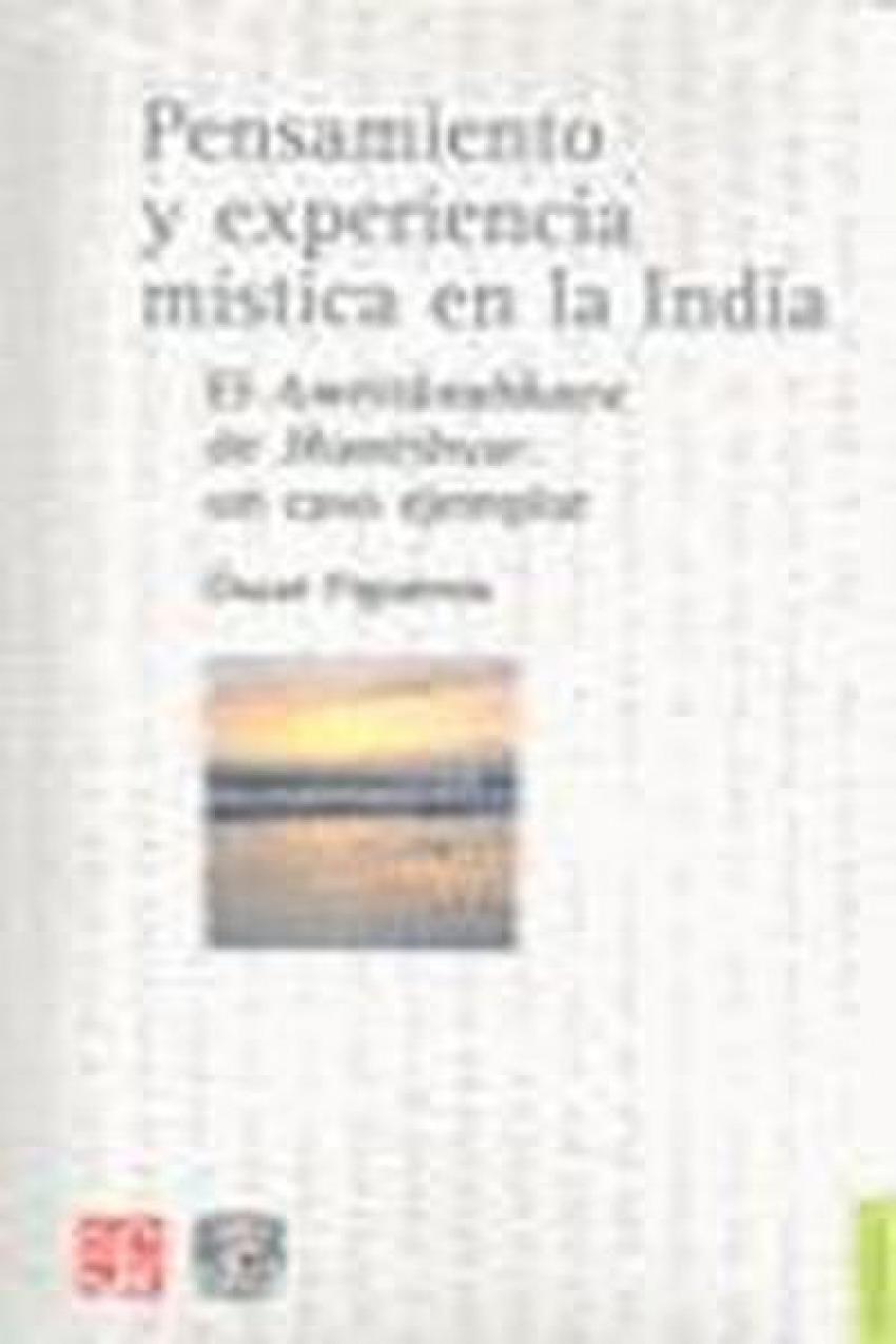Pensamiento y experiencia mística en la India : El Amritanubhava de Jñanéshvar: un caso ejemplar