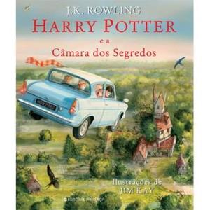 harry potter e camara dos segredos - ediçao ilustrad