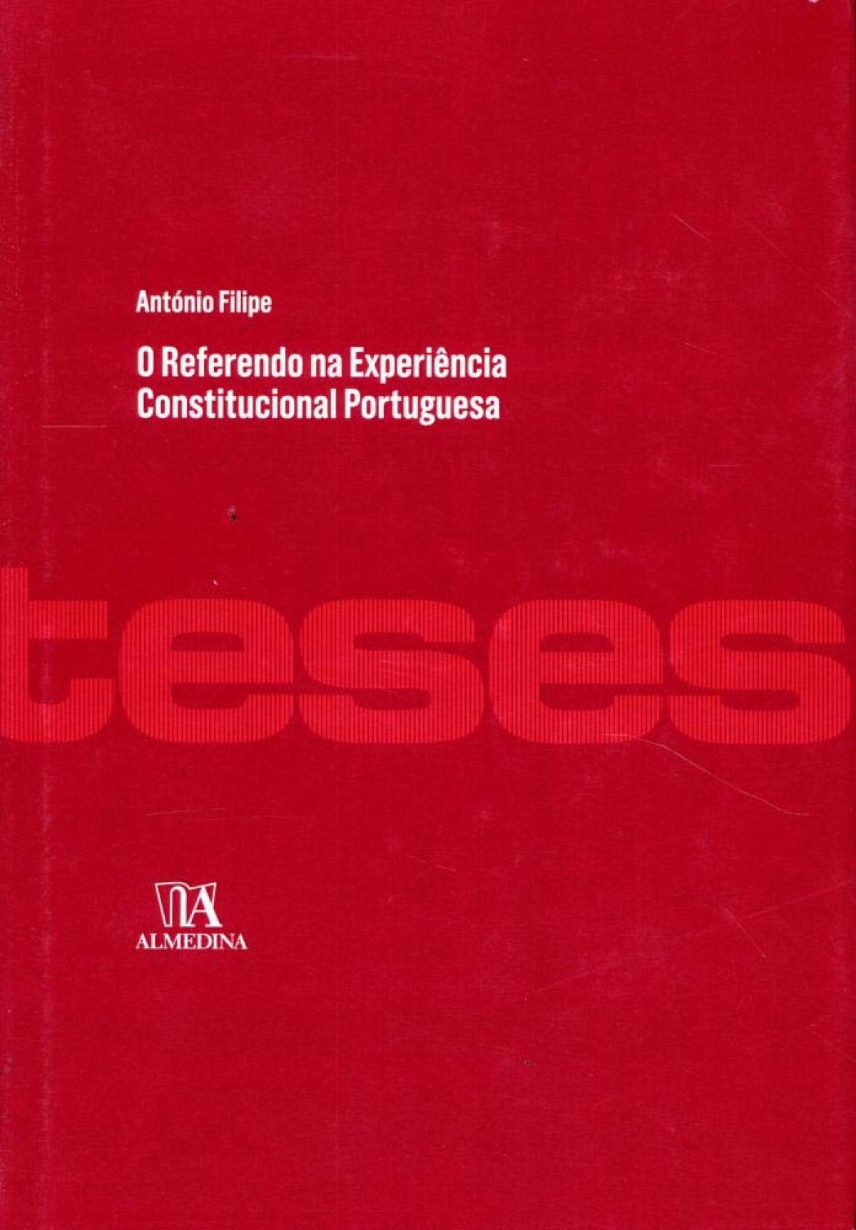 REFERENDO NA EXPERIENCIA CONSTITUCIONAL PORTUGUESA