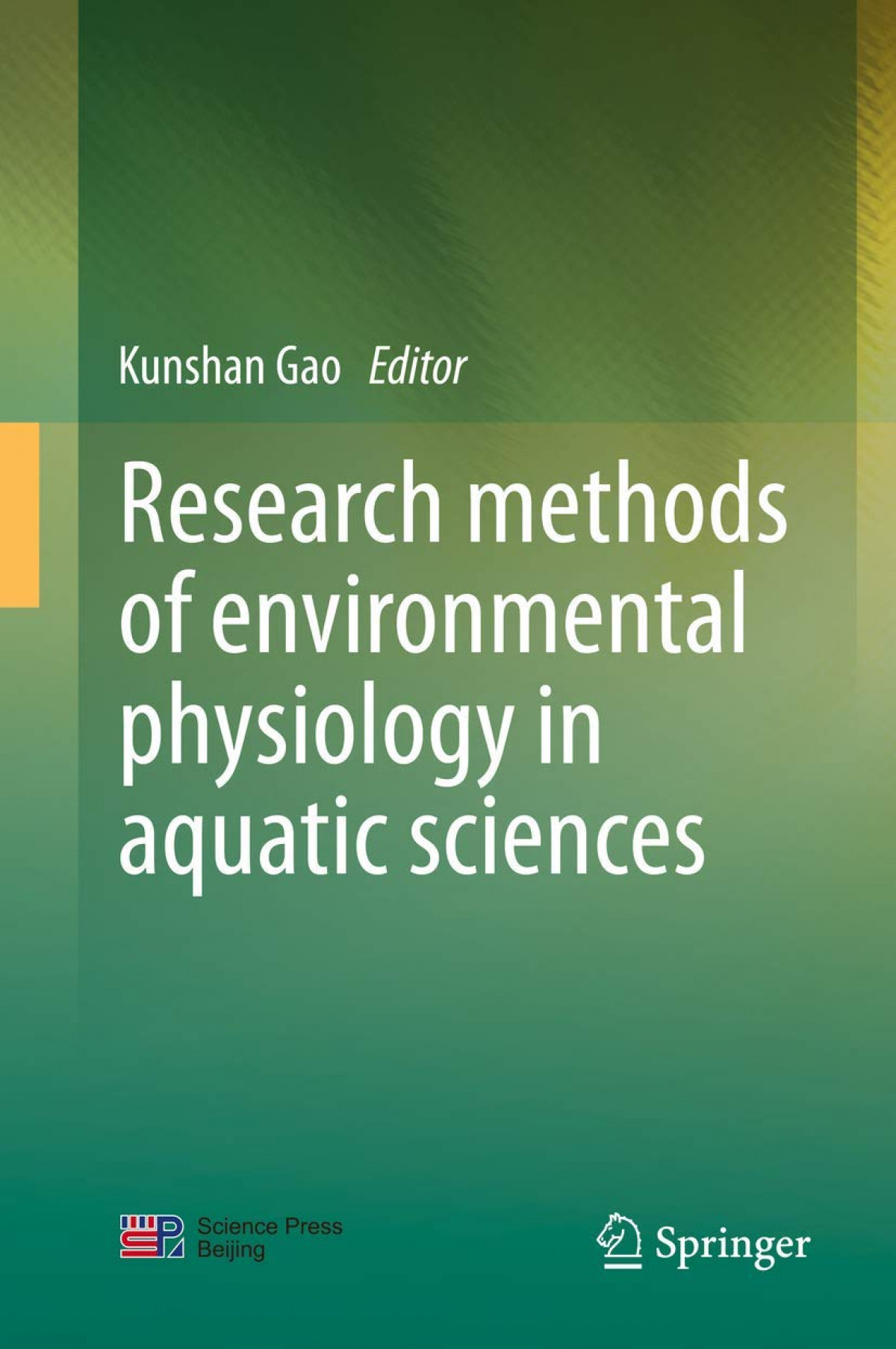 RESEARCH METHODS OF ENVIRONMENTAL PHYSIOLOGY IN AQUATIC