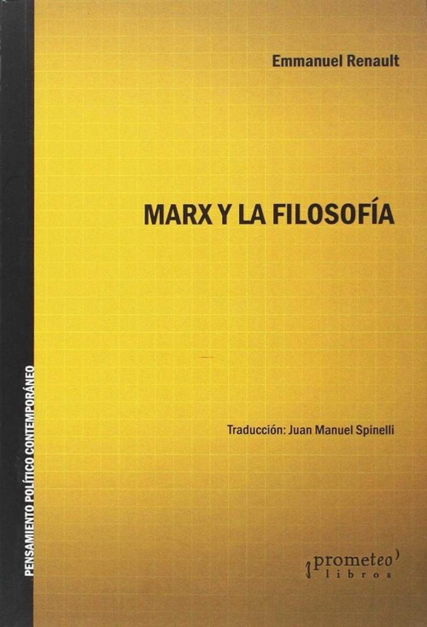 MARX Y LA FILOSOFIA