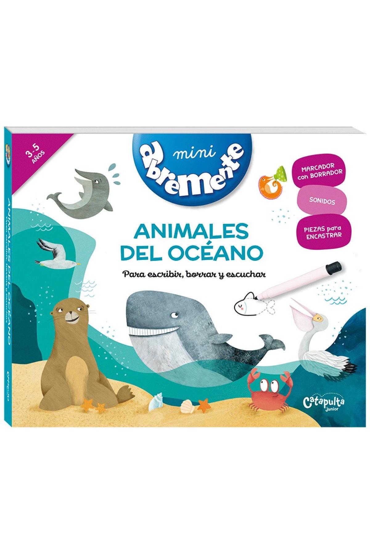 MINI ABREMENTE ANIMALES DEL OCÉANO