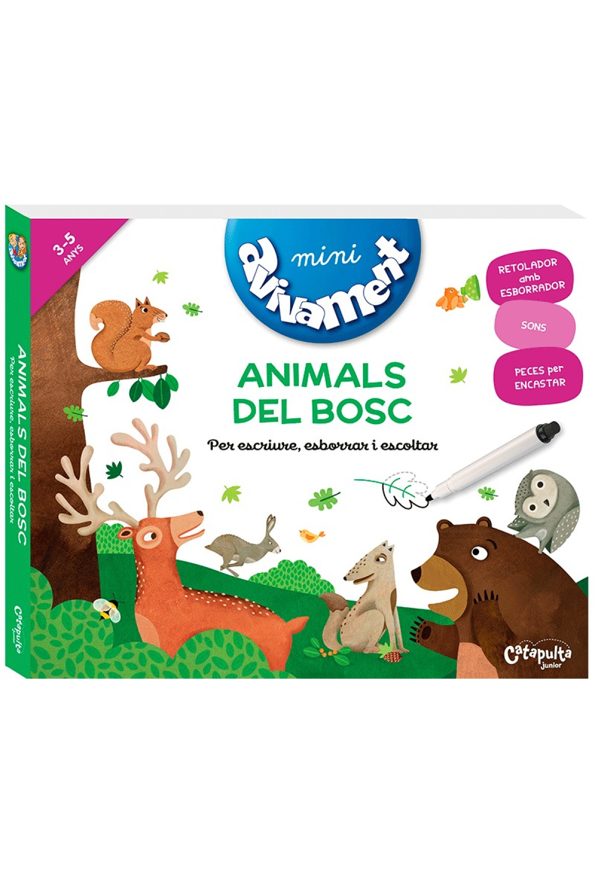 MINI AVIVAMENT ANIMALS DEL BOSC