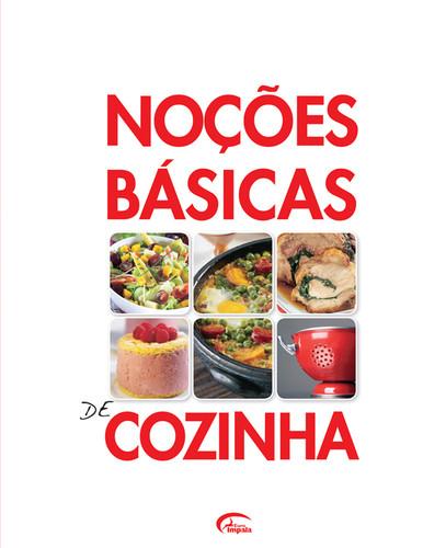 NOÇÕES BÁSICAS DE COZINHA